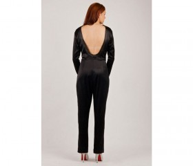 Dare to bare open back jumpsuit