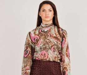 Georgette Egyptian blouse
