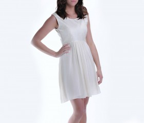Kuki Angel Ivory dress