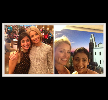 Meeting my Idol - Ms. Kelly Ripa