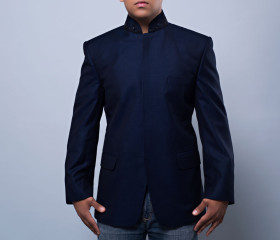 Onyx Men's Stand Collar Jacket