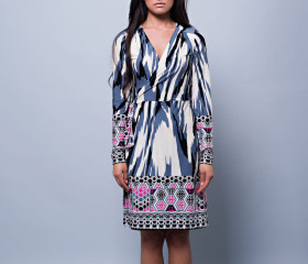 Annabel Wrap Dress