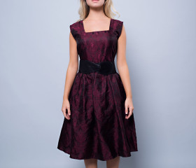 Valentine Fit and Flare Dress