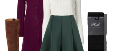 7 Ways to layer your favorite summer skirt for cooler weather
