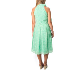 Posy Paisley mint dress