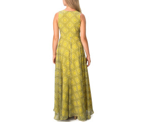 Tuscan sun yellow maxi