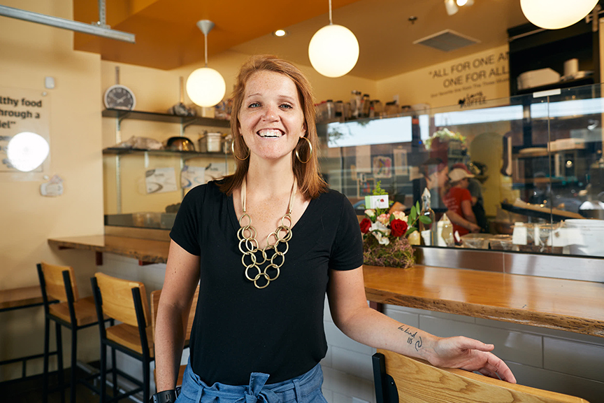 Meet Role Model #3: Founder of A Place at the Table, Maggie Kane